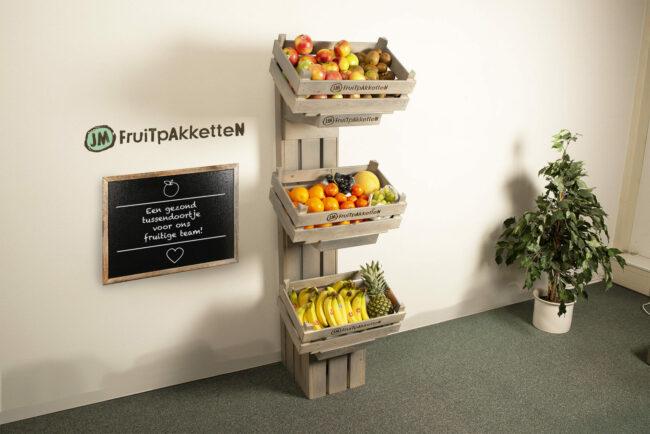 display voor het fruit